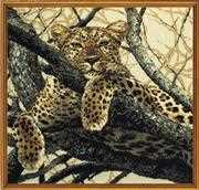 RIOLIS Leopard Cross Stitch Kit