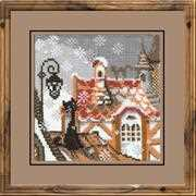 RIOLIS City Cats Winter Cross Stitch Kit