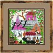 RIOLIS City Cats Summer Cross Stitch Kit