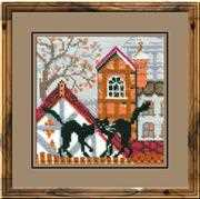 City Cats Autumn - RIOLIS Cross Stitch Kit