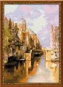 RIOLIS Amsterdam Canal Cross Stitch Kit