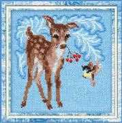 RIOLIS Fawn Cross Stitch Kit