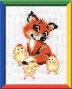 Fox with Chicks - RIOLIS Cross Stitch Kit