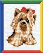 Yorkie - RIOLIS Cross Stitch Kit