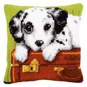 Dalmatian Cushion - Vervaco Cross Stitch Kit