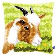 Little Goat Cushion - Vervaco Cross Stitch Kit