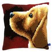 Vervaco Labrador Cushion Cross Stitch Kit