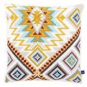 Ethnic Cushion 3 - Vervaco Cross Stitch Kit