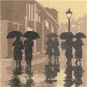 Heritage Brollies - Aida Cross Stitch Kit