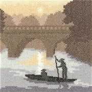 On the River - Evenweave - Heritage Cross Stitch Kit