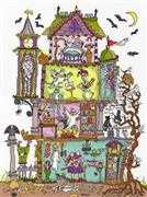 Bothy Threads Haunted House Cross Stitch Kit