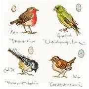Bothy Threads Garden Birds 1 Cross Stitch Kit
