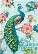 Blue Peacock - Dimensions Cross Stitch Kit