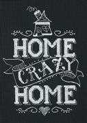 Home Crazy Home - Dimensions Cross Stitch Kit
