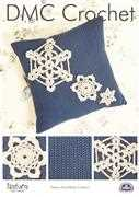 DMC Festive Snowflake Cushion