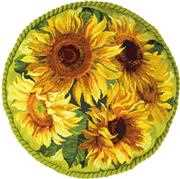 Sunflower Cushion - RIOLIS Cross Stitch Kit