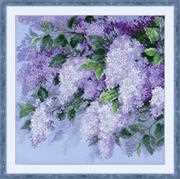 RIOLIS Lilacs After the Rain Cross Stitch Kit