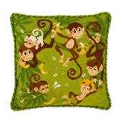RIOLIS Jungle Cushion Cross Stitch Kit