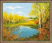 RIOLIS Autumn Day Cross Stitch Kit