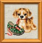 Naughty Puppy - RIOLIS Cross Stitch Kit