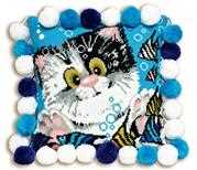 Kitty Cushion - RIOLIS Cross Stitch Kit