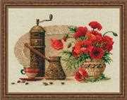 RIOLIS Coffee Cross Stitch Kit