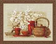 RIOLIS Tea Cross Stitch Kit