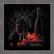 RIOLIS Still Life with Red Wine Cross Stitch Kit