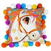 RIOLIS Horse Pillow Cross Stitch Kit