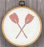 Anette Eriksson Oars Hoop Kit Cross Stitch