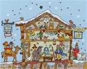 Bothy Threads Cut Thru Nativity Christmas Cross Stitch Kit