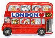 Bothy Threads London Bus Cross Stitch Kit