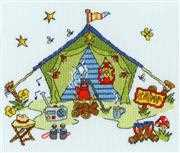 Sew Dinky - Tent - Bothy Threads Cross Stitch Kit