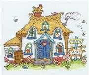 Sew Dinky - Cottage - Bothy Threads Cross Stitch Kit