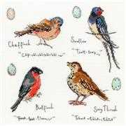 Bothy Threads Garden Birds 3 Cross Stitch Kit