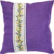 Floral Wheat Band Cushion - Luca-S Cross Stitch Kit