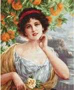 Beauty Under the Orange Tree - Luca-S Cross Stitch Kit