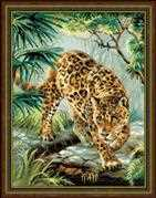RIOLIS Owner of the Jungle Cross Stitch Kit