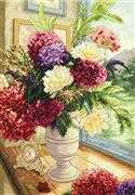 Dimensions Summer Bouquet Cross Stitch Kit