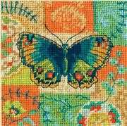 Butterfly Pattern - Dimensions Tapestry Kit