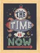 Time is Now - Design Works Crafts Cross Stitch Kit