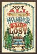 All That Wander - Design Works Crafts Cross Stitch Kit