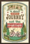 Design Works Crafts The Journey Cross Stitch Kit
