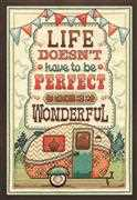 Design Works Crafts Wonderful Life Cross Stitch Kit