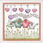 Bird Family - Design Works Crafts Cross Stitch Kit