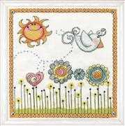 Fly Away Birdie - Design Works Crafts Cross Stitch Kit