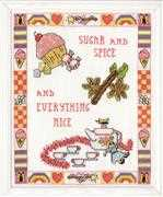 Design Works Crafts Sugar and Spice Cross Stitch Kit