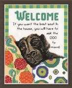Best Seat Welcome - Design Works Crafts Cross Stitch Kit