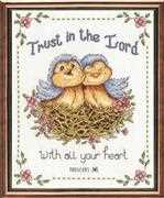 Design Works Crafts Trust in the Lord Cross Stitch Kit