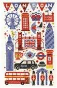 London Attractions - DMC Cross Stitch Kit